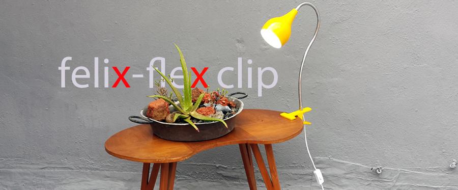 Lampara Pinza Escritorio Moderno Retro apto Bajo consumo LED