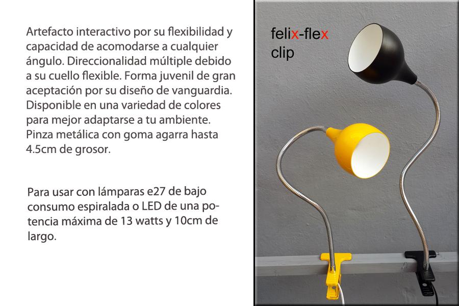 Lampara moderna Pinza Escritorio LED